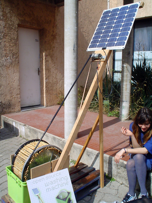 diy solar clothes washer
