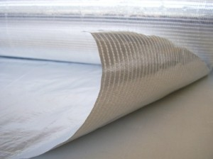 conductive auminum laminated fabric